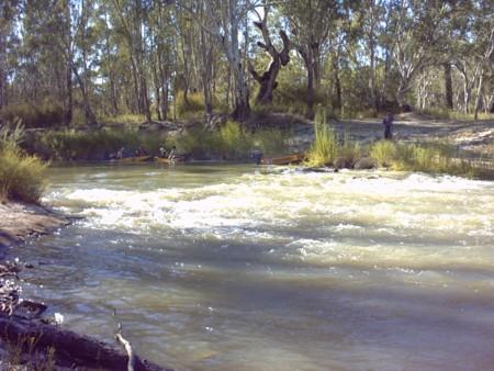Stony Crossing on Mullaroo Creek.