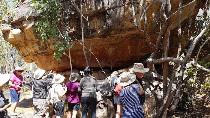 This Munurru rock art site is a 'must see' for tour groups.
