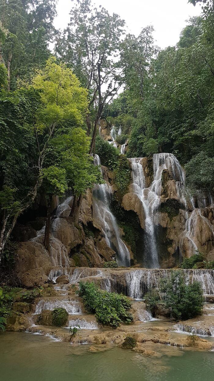 Kuang Si Waterfall - Asia's most beautiful.