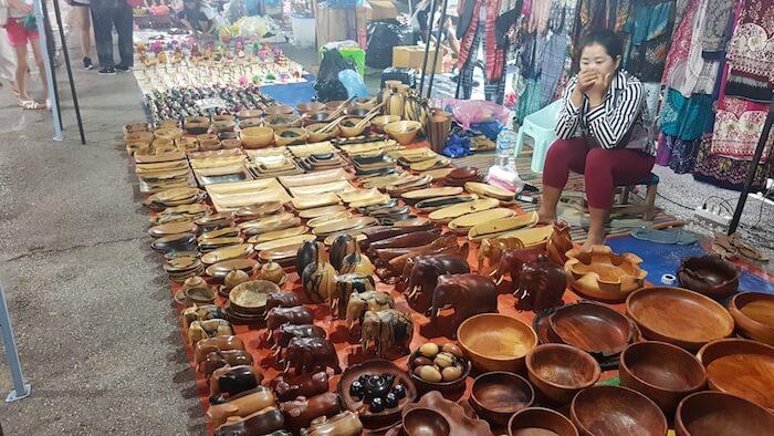 The night market runs along Sisavangvong Road to Settathilat Road (the town centre).