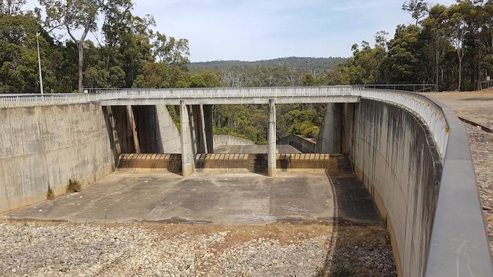 South Dandalup Dam Spillway.