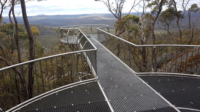 The Lookout provides amazing views of the Walpole Wilderness.