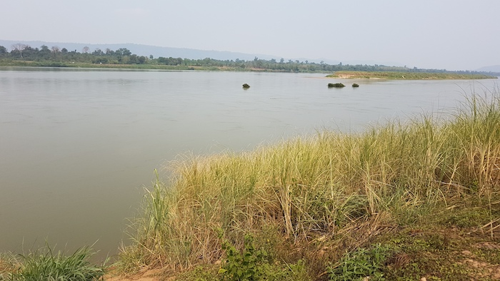 Mekong River at Sangkhom.