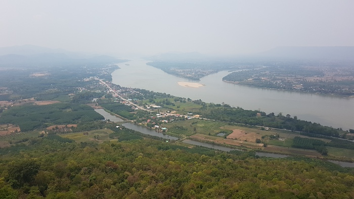 The Mekong River from the Skywalk.