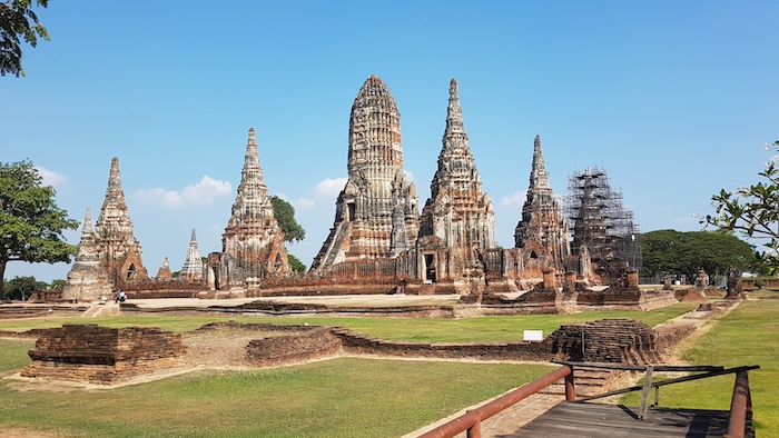 The capital of Siam, in 1700 Ayutthaya was home to a million people and was the largest city in the world.