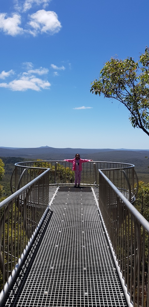 Ayesha at Wilderness Lookout.