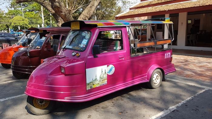 Ayutthaya 'tuk tuks'.
