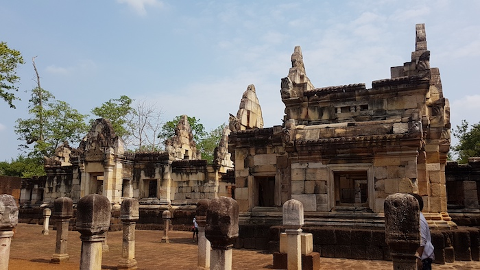 Khmer style temple.