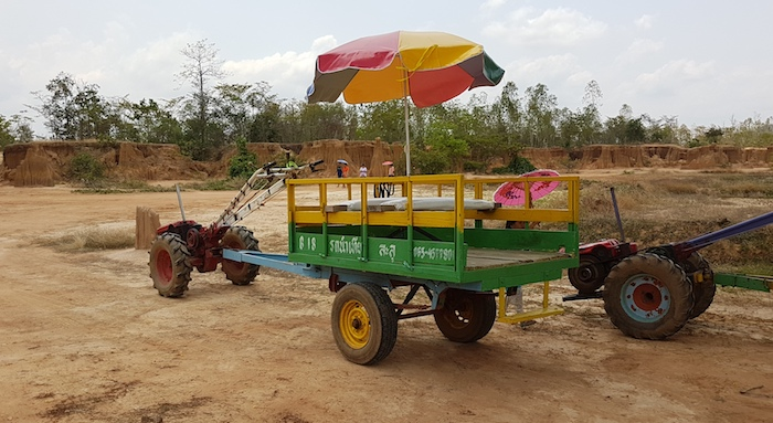 Our mode of transport.