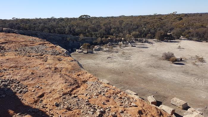 Boorabbin quarry.