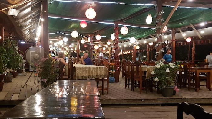 Vang Vieng nightlife.