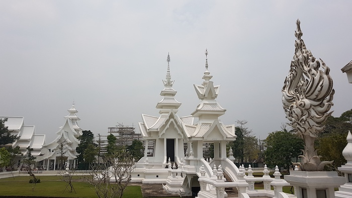 The White Temple is privately owned.