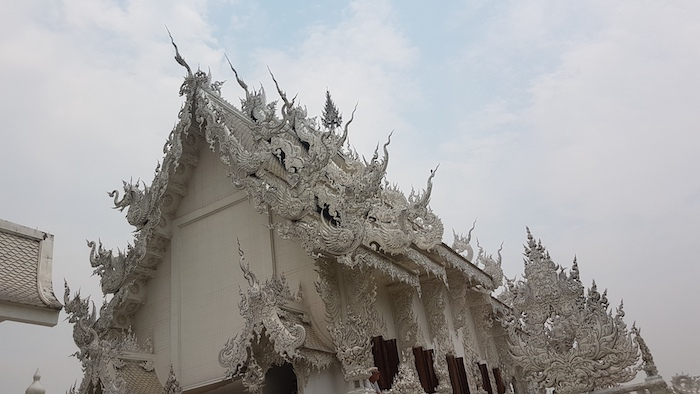 The White Temple was opened to visitors in 1997.