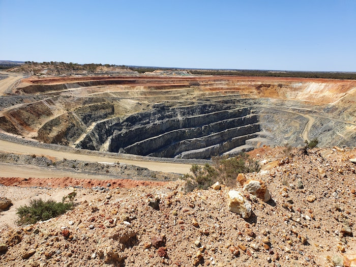 Edna May mine at Westonia.