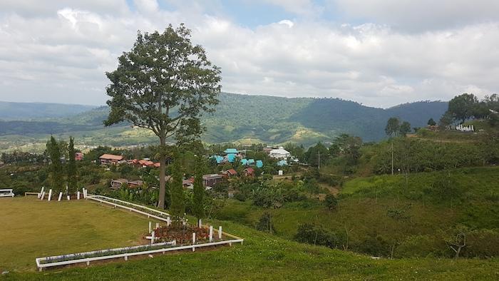 Khao Kor view.
