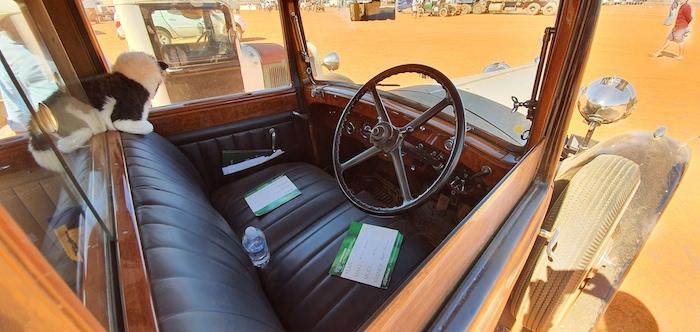 Rolls Royce interior.