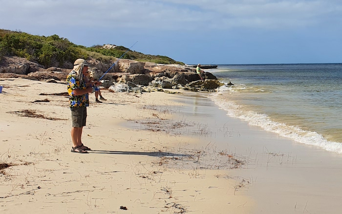 Fishing at Coolimba.
