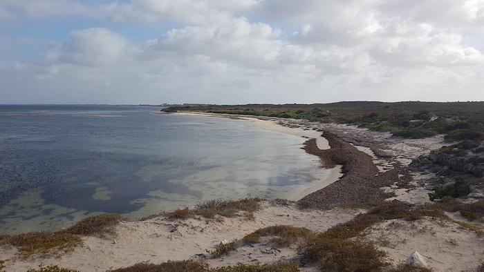 Bay three kilometres south of Leeman.