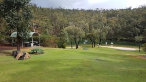 Public park below the dam wall at North Dandalup.