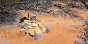 Grave at Urdardunging.