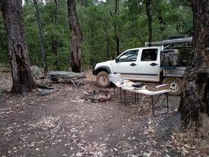 Kim's camp