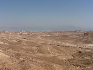 Barren Judean Desert.