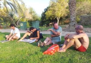 Ehud, Ran, Kim, Ohad.