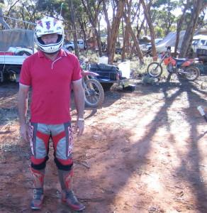 Ready to go riding.