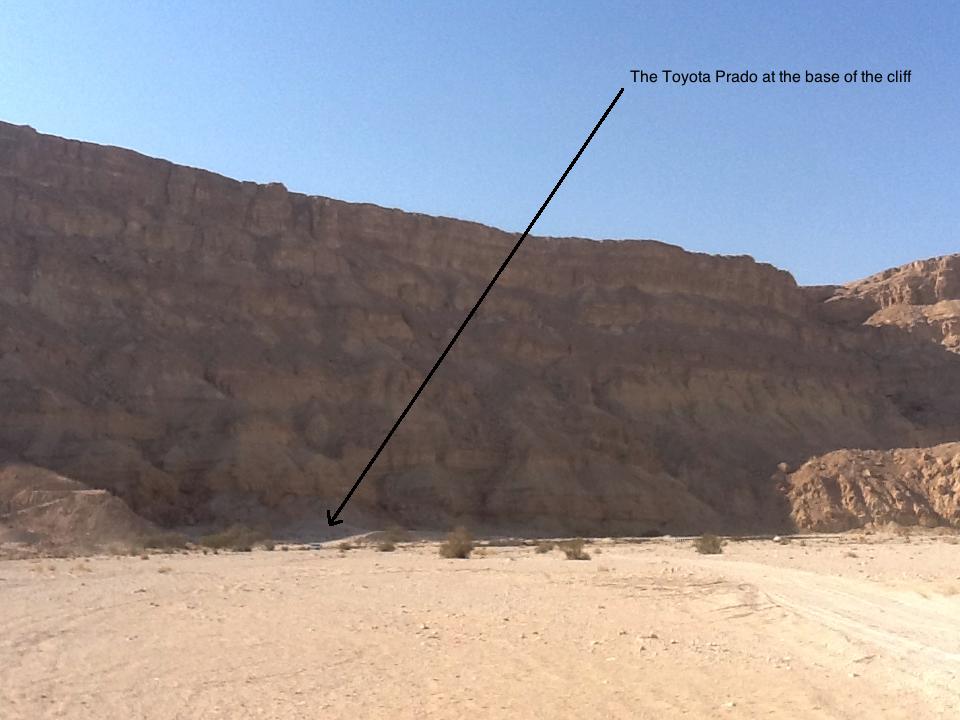 Wadi Nekarot.