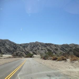 Heading south towards Mecca.