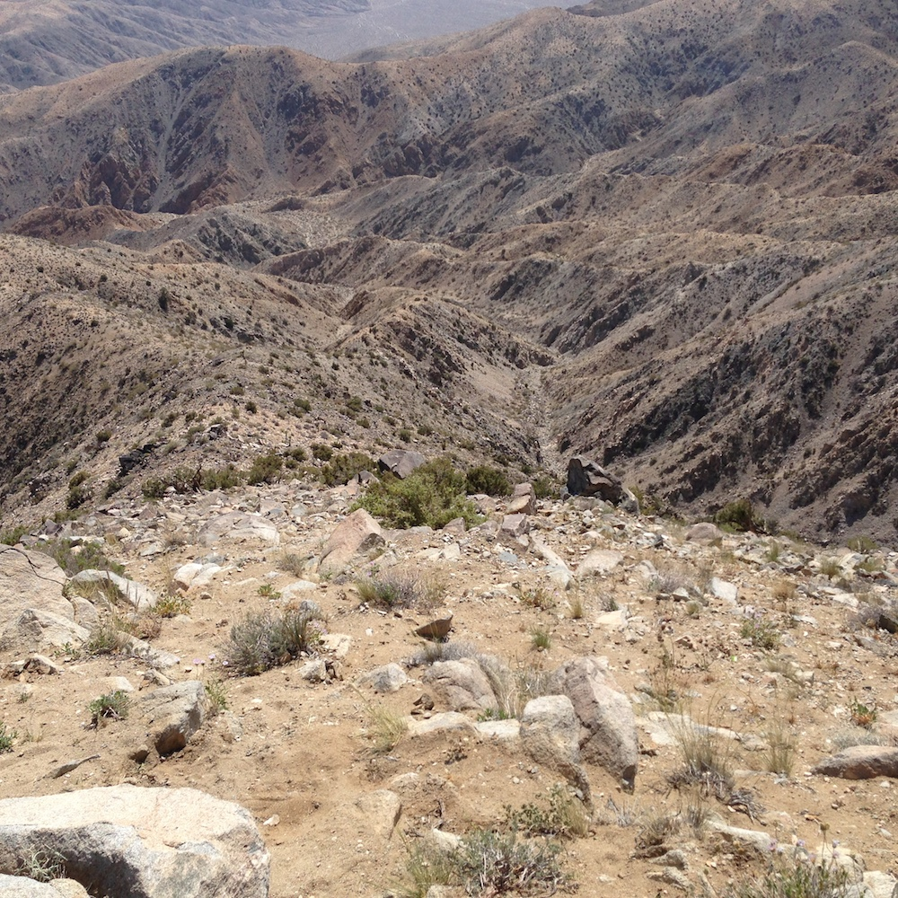 from the Keys View Lookout.