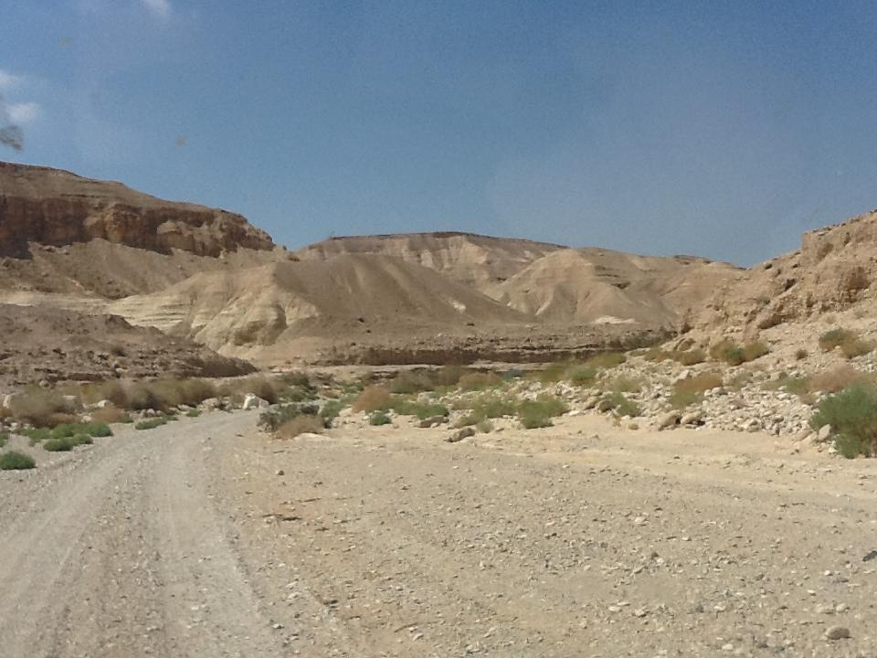 In Makhtesh Katan.