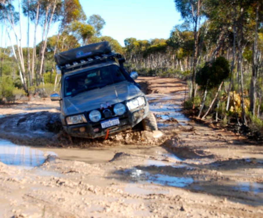 Another mudhole near where we camped.