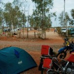 Camp at Curtin Springs.