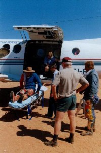 On my way to Alice Springs