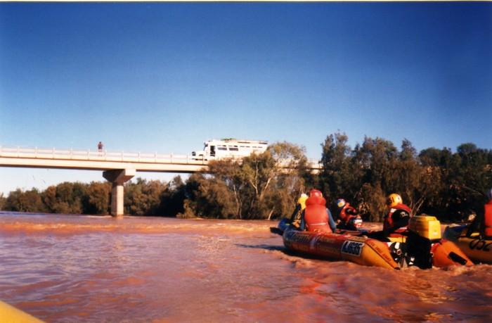 Leaving Galena Bridge.
