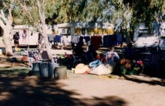 At Kalbarri Caravan Park.