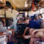 Inside The Bus.