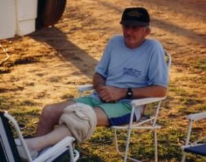 John had a swollen knee.
