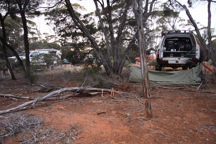 Graham's camp.