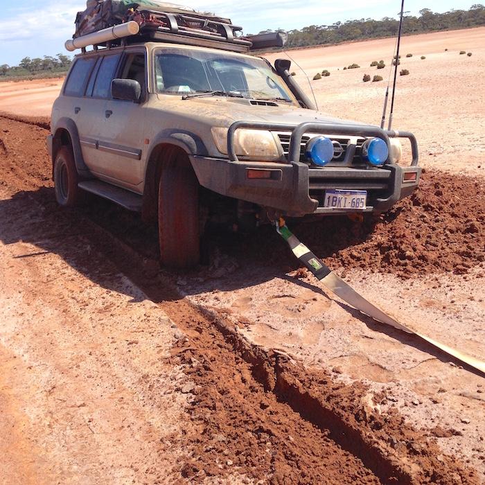 Dusty's Patrol bogged