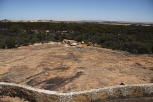 King Rocks' view.