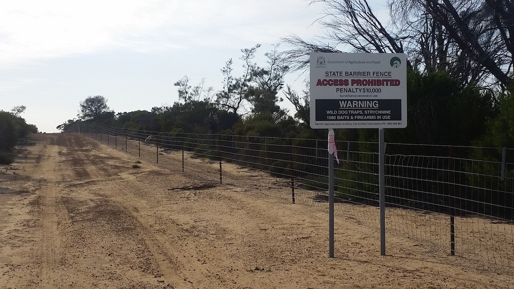 State Barrier Fence.