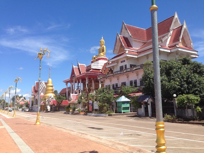 Sakhrai Temple at Nong Khai.