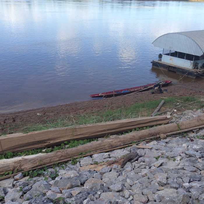 Wiang Khuk fishing boat
