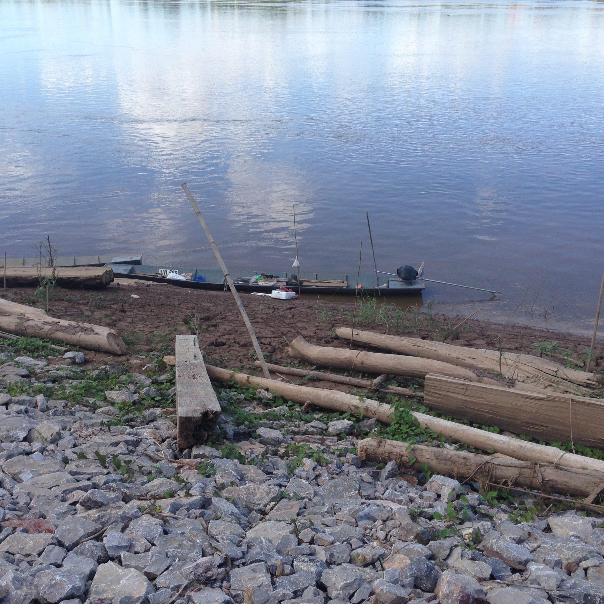 Fishing boat at Wiang Khuk