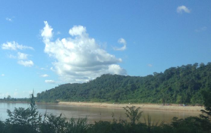Mekong River near Sankhom.