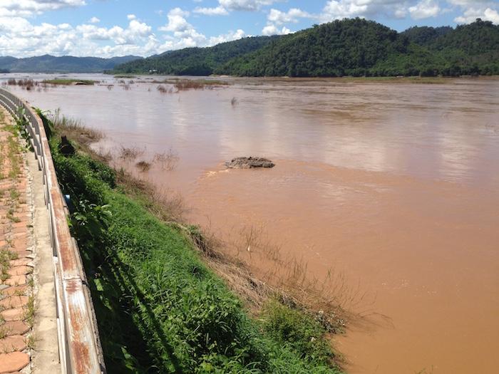 Mekong at Houay Hiang