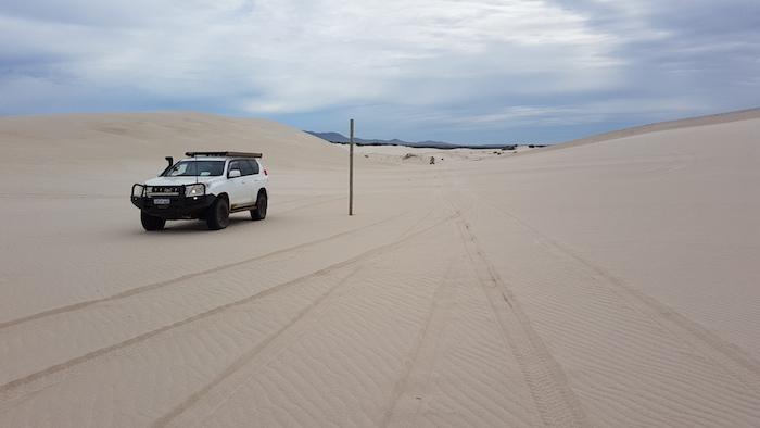 Dan on dunes.