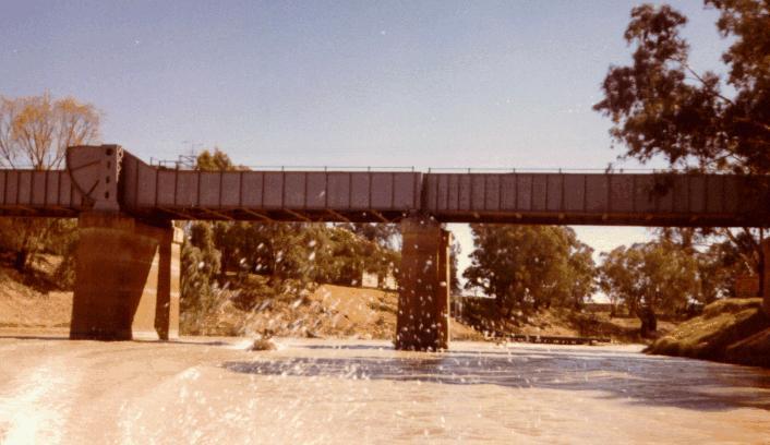 Menindee Railway Bridge